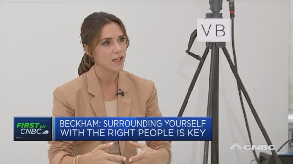 Victoria Beckham: I've had to learn very quickly about building a business
