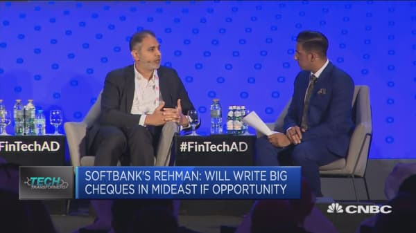 SoftBank's Rehman: Will write big cheques in Middle East if there's opportunity