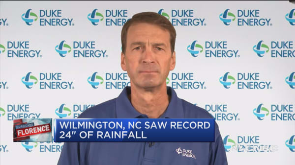 Could take a week or more for full power restoration, says Duke Energy North Carolina president