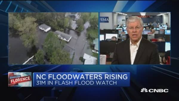 Too early to asses flood damage but it will rank up there with big events, says NFIP exec
