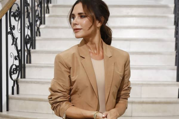 Victoria Beckham at her London Fashion Week presentation, September 16, 2018