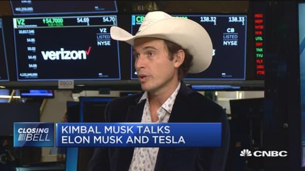 Kimbal Musk says his brother Elon is doing 'great'