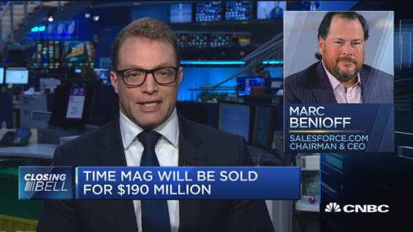 Marc Benioff the most recent billionaire to purchase a media organization