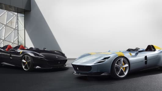Ferrari Unveiled Two New Car Models On September 18 2018. They Are Titled  The Monza