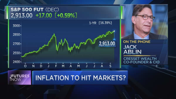 Inflation is emerging as major threat to bull market, veteran investor Jack Ablin warns