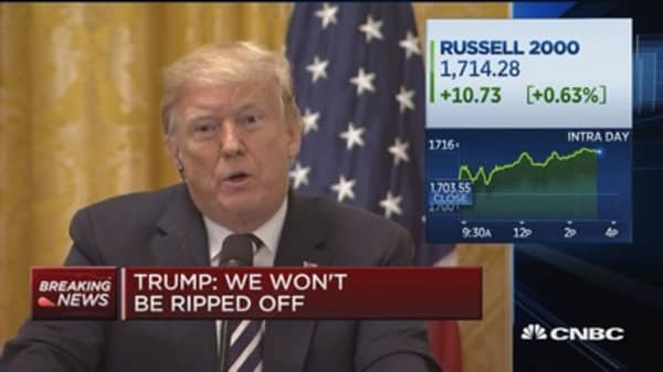 Trump: We've been ripped off by everybody