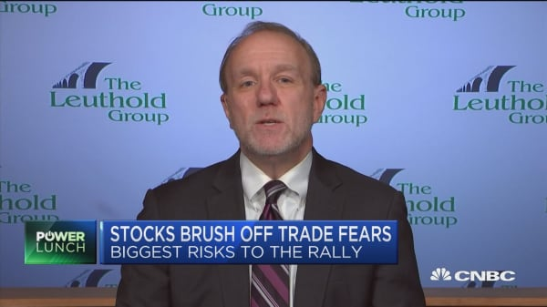 Wall Street's Jim Paulsen: Market could soon stop shrugging off Trump trade war