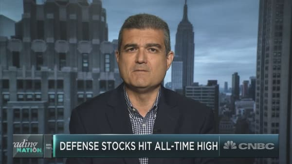 As defense stocks hit all-time highs, is the run in these names just starting?