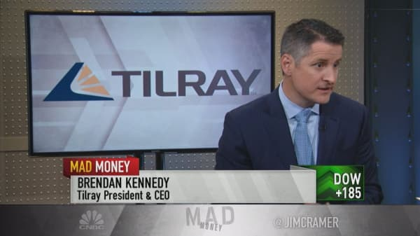 Cannabis 'a great hedge' for alcohol and drug companies: Tilray CEO