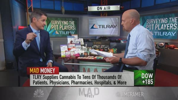 Investing in cannabis is 'a great hedge' for alcohol and drug companies, Tilray CEO says