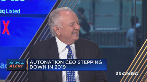 AutoNation CEO on why he's stepping down