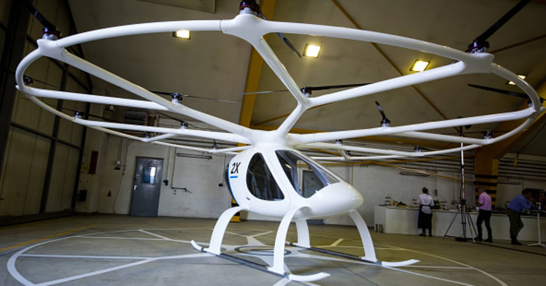 How small, flying vehicles could transform the way we move around cities
