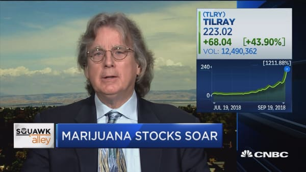 It'll take longer than five years for Tilray to grow into this valuation, says Roger McNamee