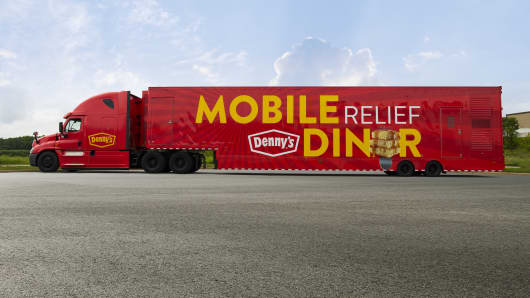 Denny's launches a Mobile Relief Diner truck