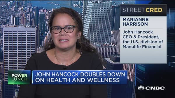 John Hancock Reinventing Life Insurance To Get People Healthier Ceo