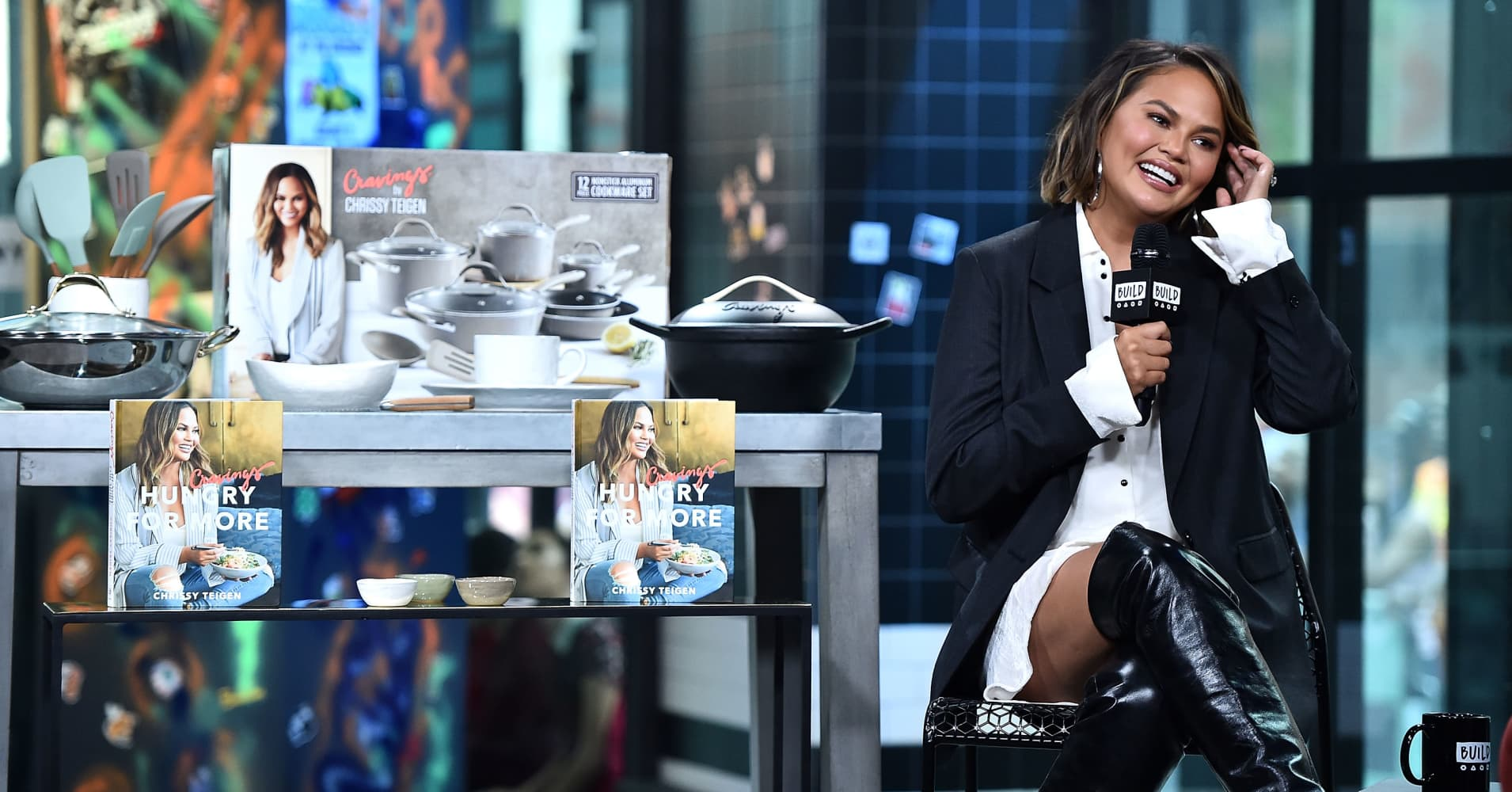 Chrissy Teigen launches a housewares collection in Target stores
