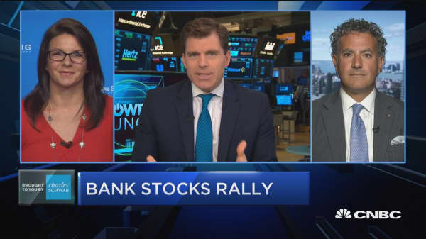 Trading Nation: Bank stocks rally