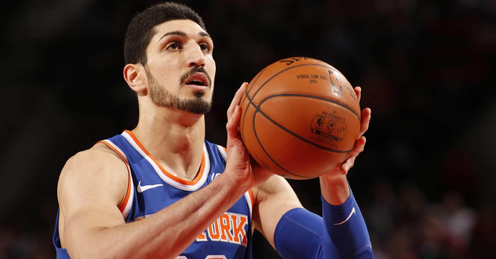 How NBA Knicks star Enes Kanter spent his first big basketball paycheck