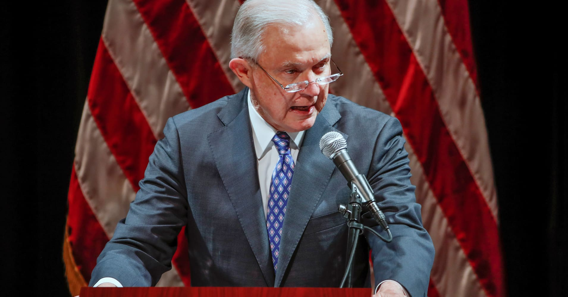 Jeff Sessions: If you want more death, 'listen to the ACLU, Antifa, Black Lives Matter'