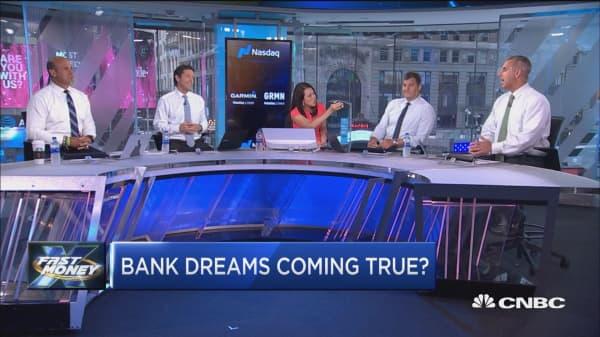 Are we finally leaving bank purgatory and entering bank heaven