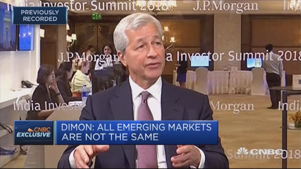 JPMorgan CEO: Not a trade war, it's a trade skirmish