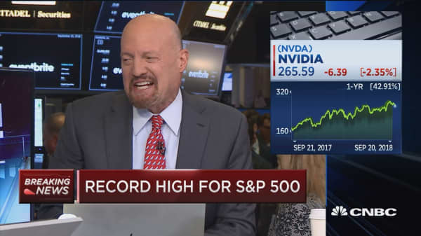 Cramer on Nvidia: If things are priced for perfection, they are going to come under pressure