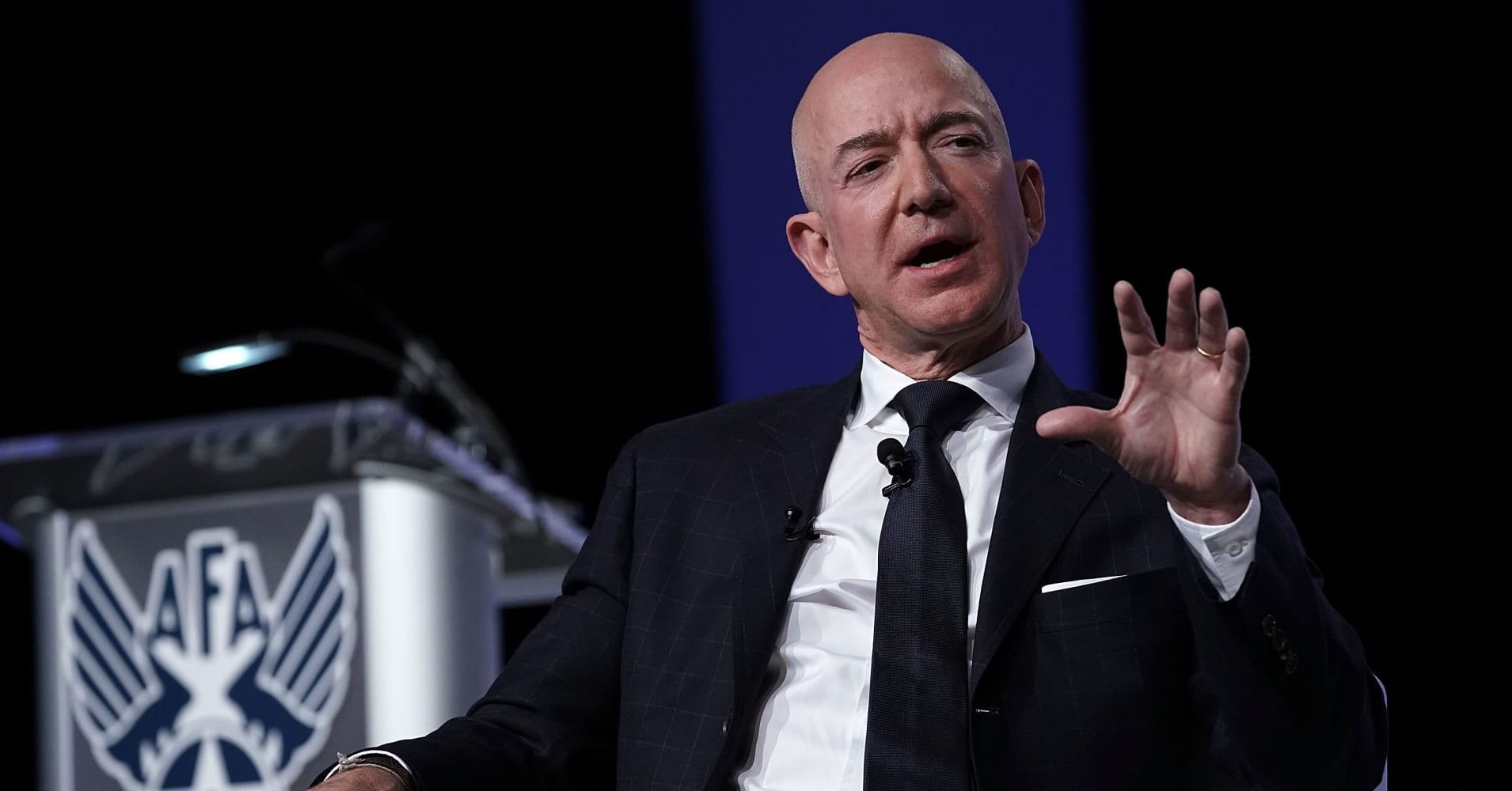 Jeff Bezos told employees last year that other companies shouldn't be so afraid of Amazon — some rivals are proving him right