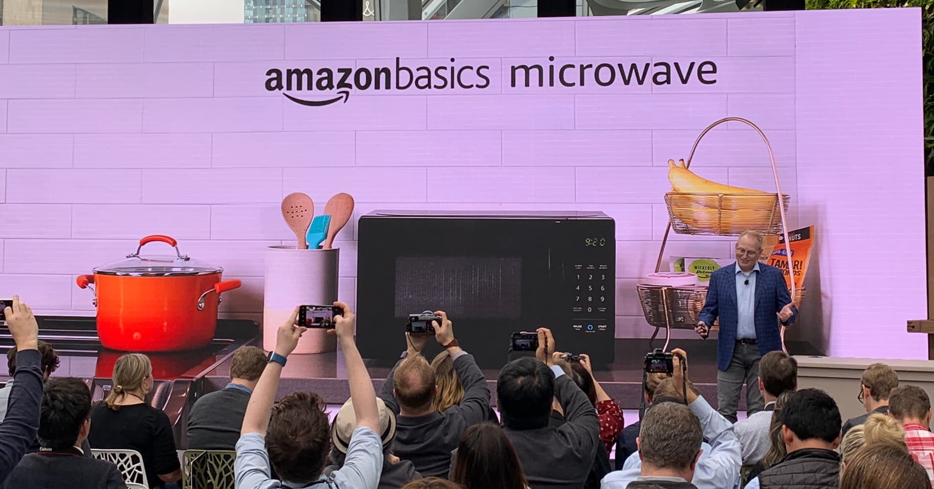 Amazon's big product reveal includes new suite of Echo products, microwave