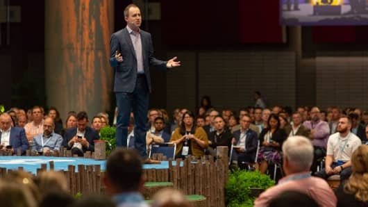 Salesforce's Bret Taylor at Connections in Chicago