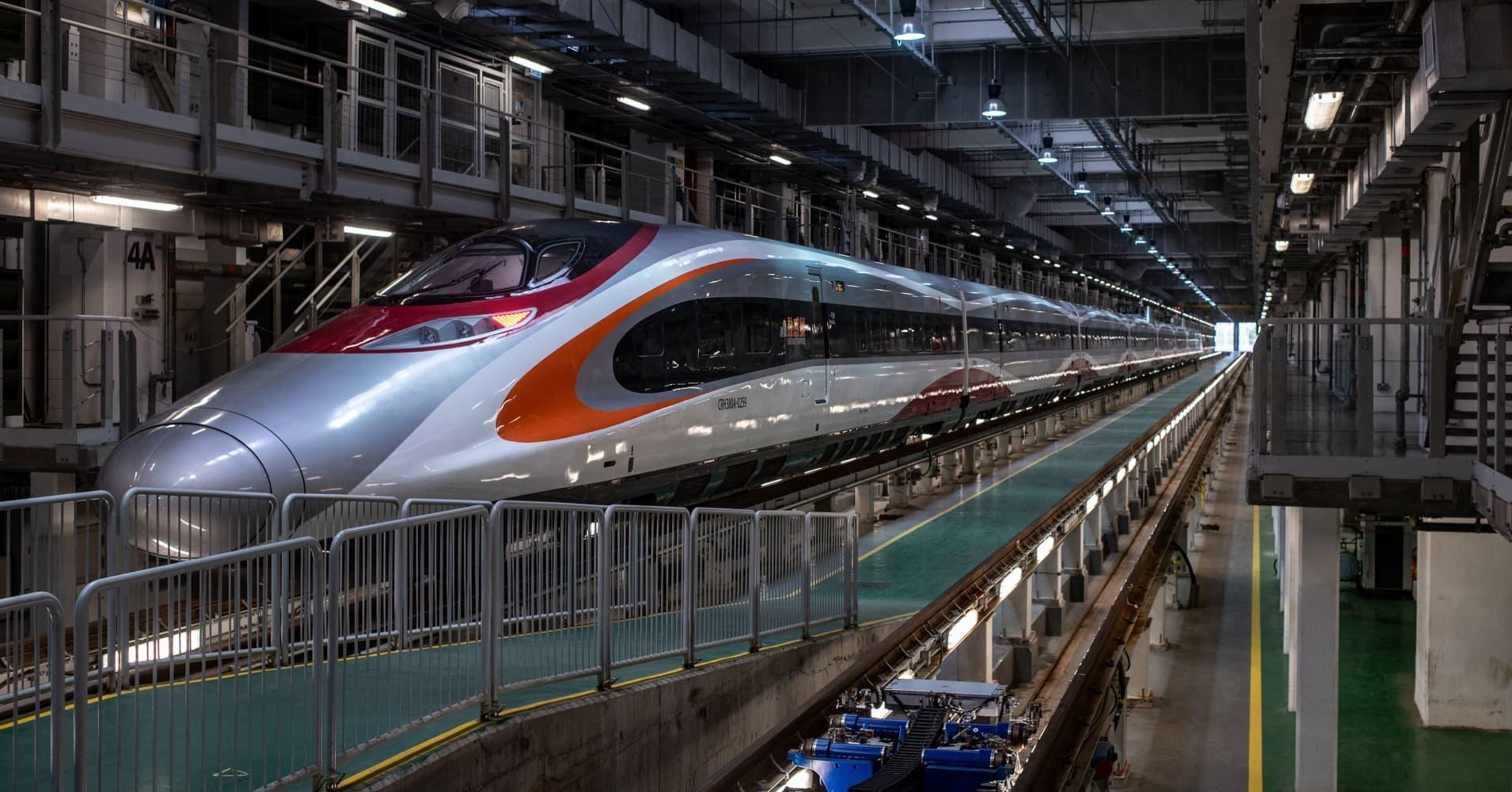High-speed rail: Train to China brings benefits, worries ...