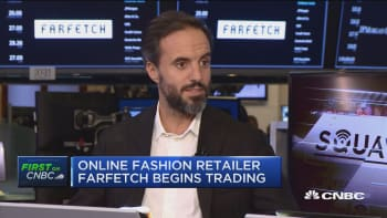 Farfetch CEO on IPO and luxury online marketplace