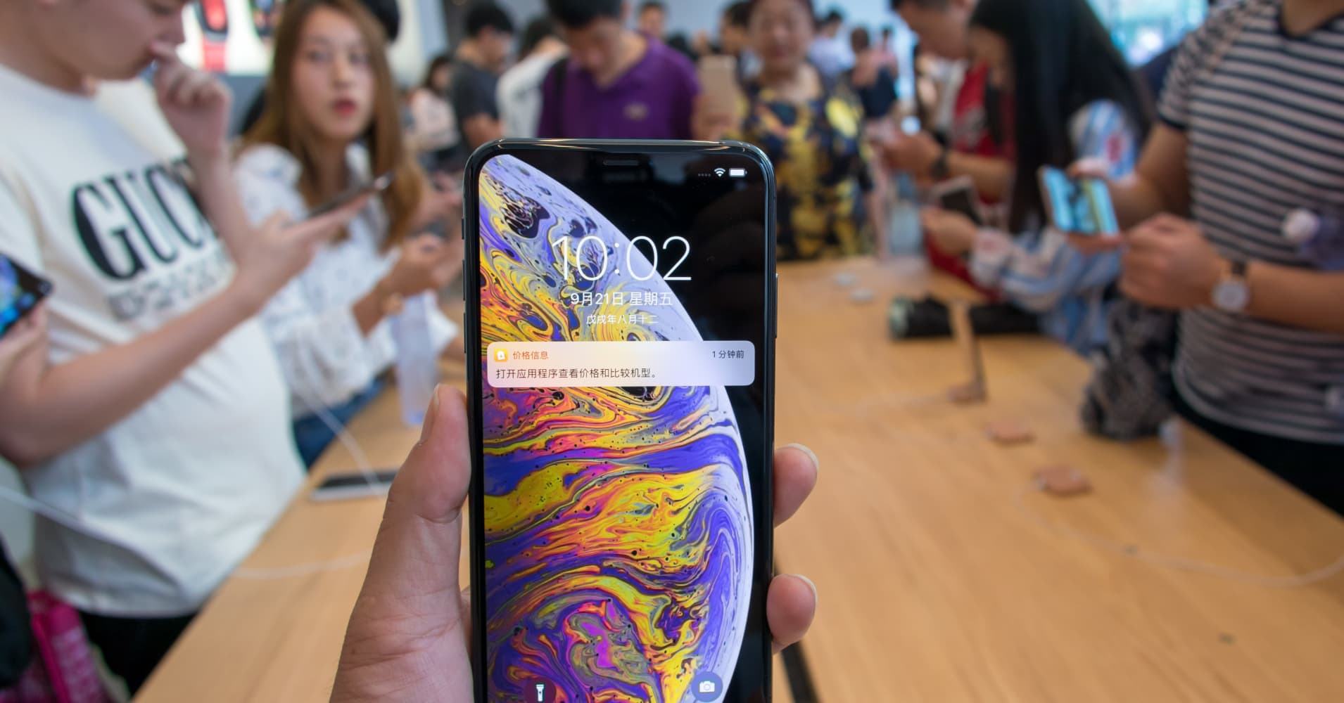 Retailers are slashing iPhone prices across China as consumers say the phones aren't worth the cost