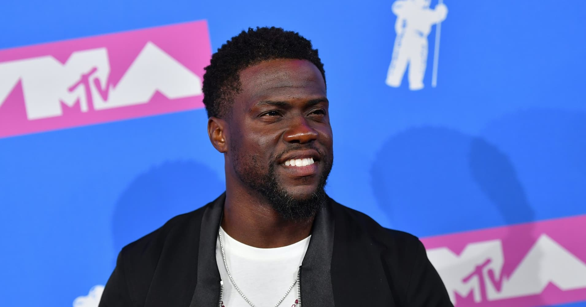 Actor/comedian Kevin Hart attends the 2018 MTV Video Music Awards at Radio City Music Hall on August 20, 2018 in New York City.