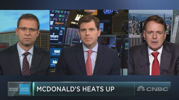 Dow laggard McDonald's just jumped out of a correction. Here's how to play it now