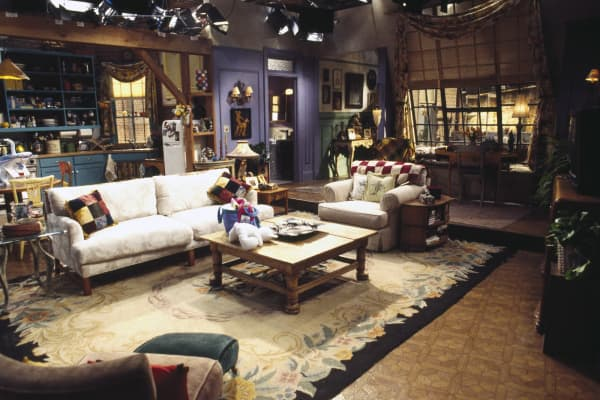 Set of Monica Geller's apartment in 'Friends'
