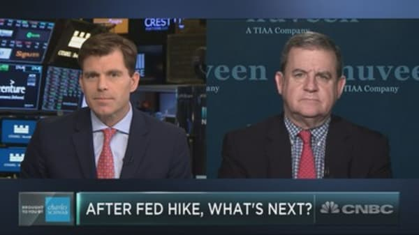 The Fed could soon face a new challenge if economy strengthens, Nuveen strategist says