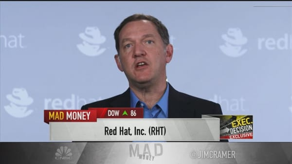 'We expect this is the bottom' in enterprise growth: Red Hat CEO