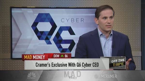 'We've got to wake up' to threat of cybercrime: Cybersecurity CEO