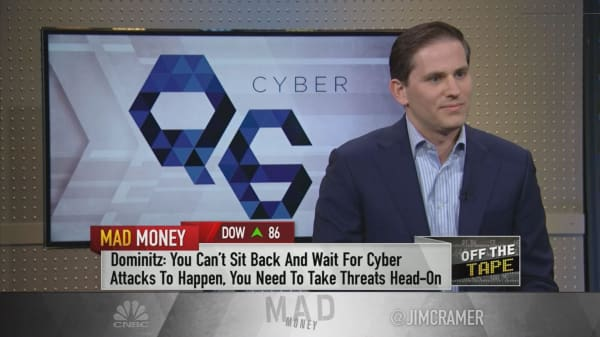 'We've got to wake up' to the very real threat of cybercrime, cybersecurity CEO says
