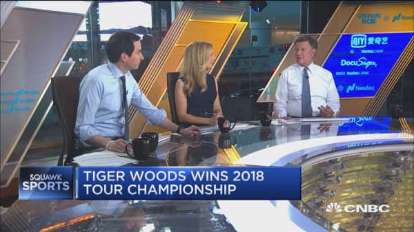 Tiger Woods wins 2018 Tour Championship