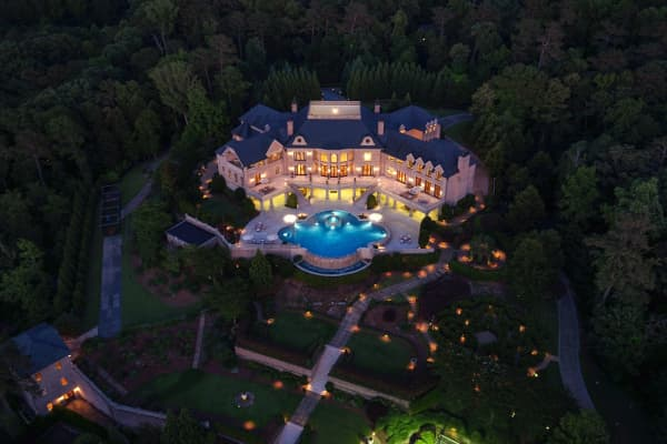 The $25 million mansion in Buckhead, Atlanta, Georgia