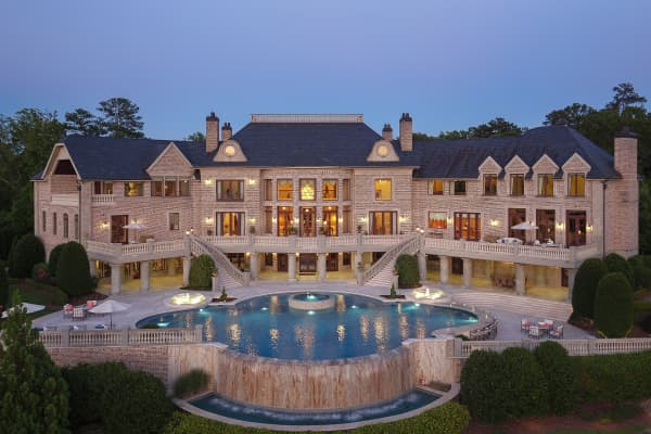The $25 million mansion in Buckhead, Atlanta, Georgia.