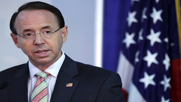 Rosenstein exit could put Trump in political firestorm