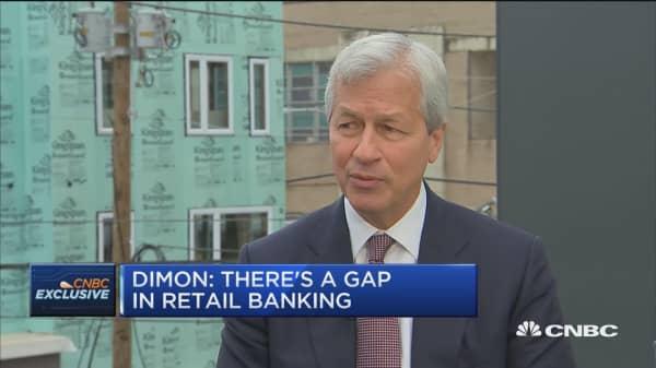 JP Morgan's Dimon: We don't see any great economic potholes