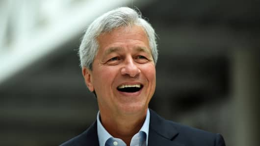 Jamie Dimon, Chairman and CEO of JP Morgan Chase.