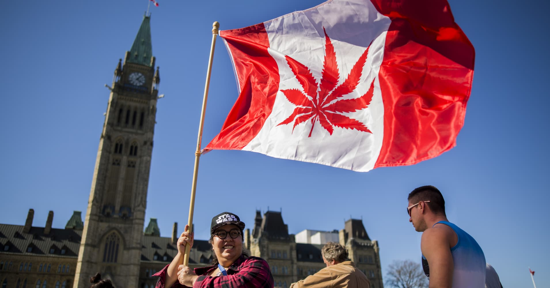 Canada is now the world's largest legal marijuana marketplace
