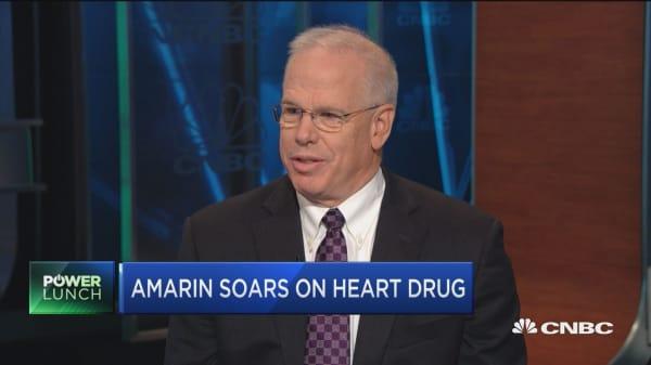 Amarin CEO on Vascepa heart drug trial