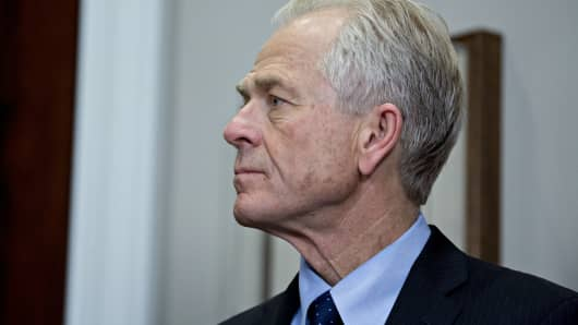 Peter Navarro, director of the National Trade Council