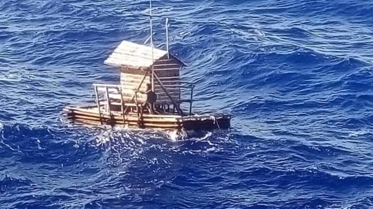 An Indonesian teenager survived while lost at sea for well over a month.