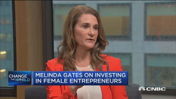 Melinda Gates on improving gender diversity in tech